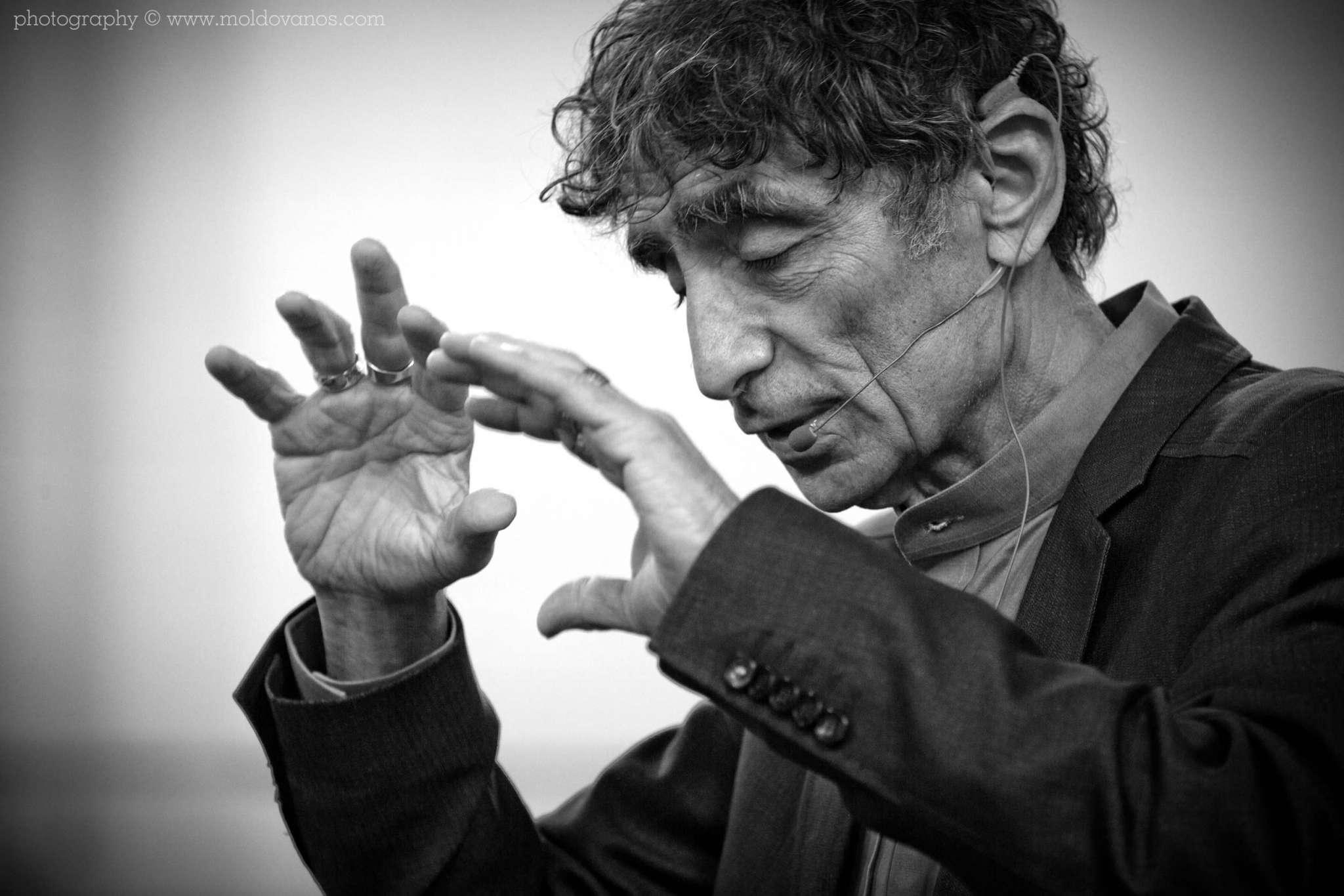 Best-selling Author Dr. Gabor Maté- Event Photography by Paul Moldovanos © moldovanos.com