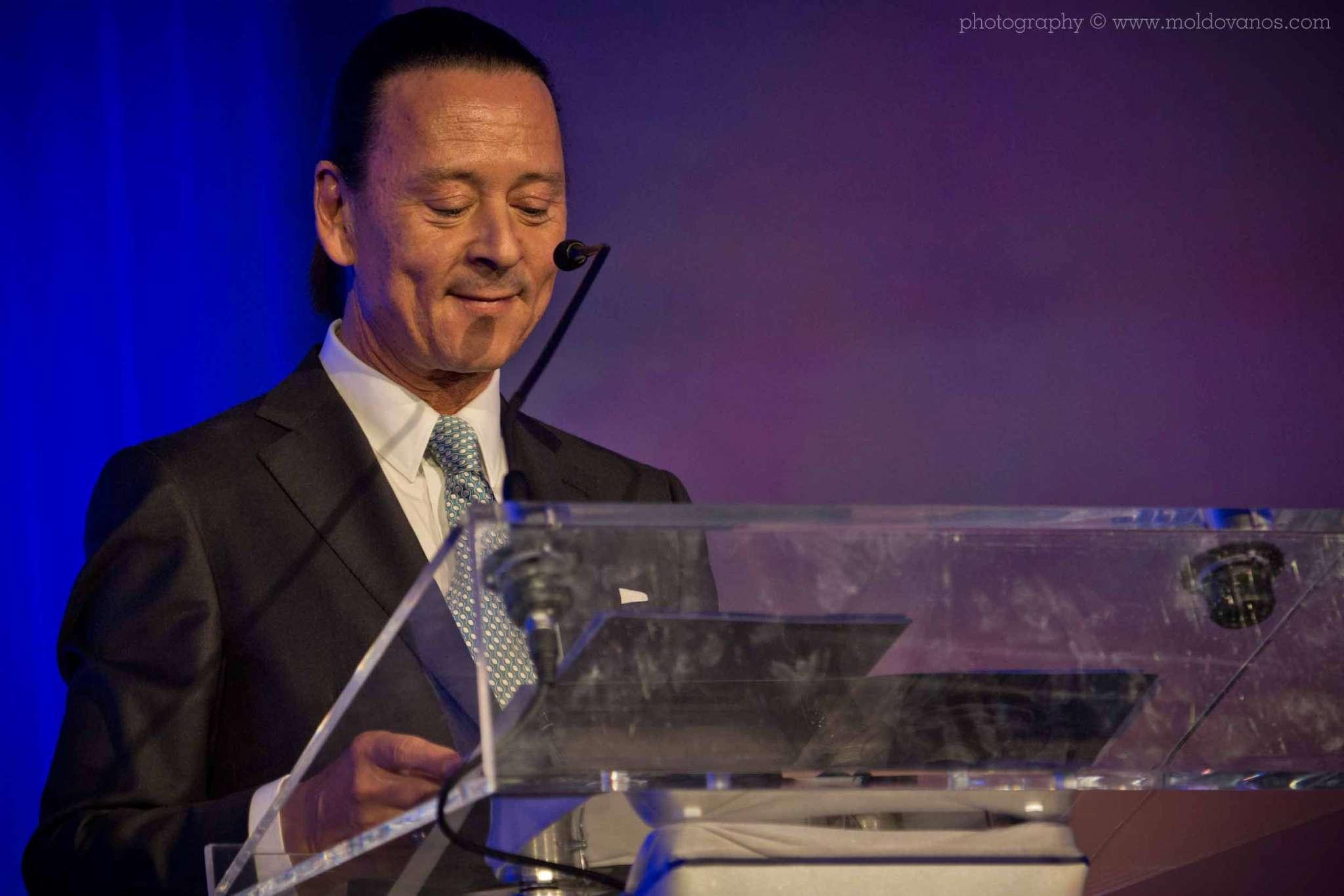 Leo Awards President Walter Daroshin- Event Photography by Paul Moldovanos © moldovanos.com